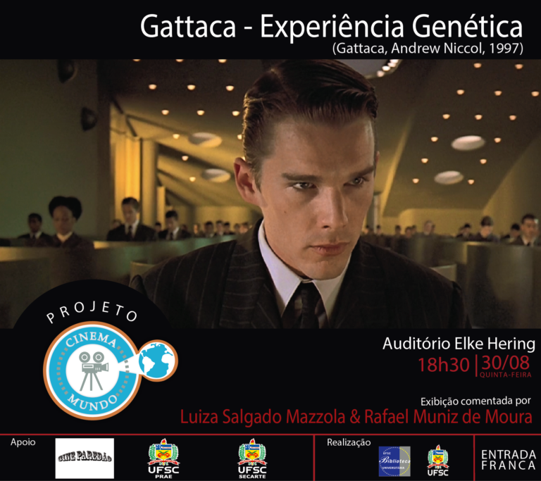 "Cinema Mundo ""Gattaca: experiência genética"" @ Auditório Elke Hering - BU"
